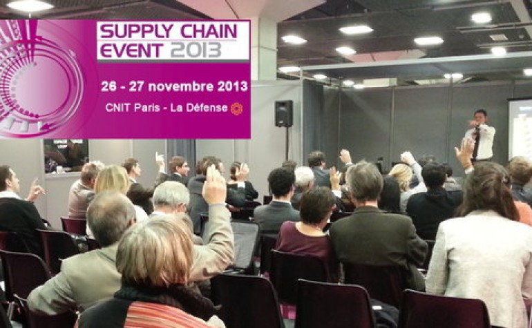 aXoma Consultants au Supply Chain EVENT 2013