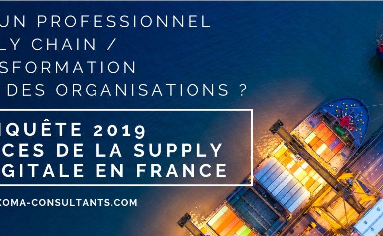 Enquête Supply Chain digitale 2019