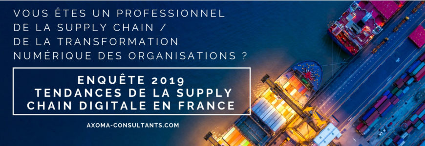 Enquête Supply Chain digitale 2019